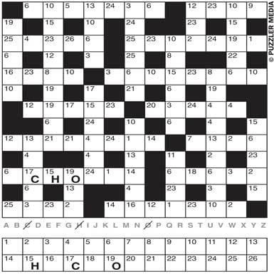 Play Codeword Puzzles